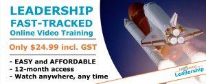 Website Blog Banner Leadership Fast-tracked Online Course