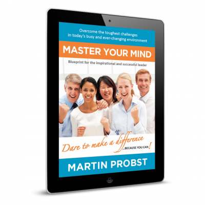 Master Your Mind - ebook edition - 3D Cover - Professional Development - Leadership Skills