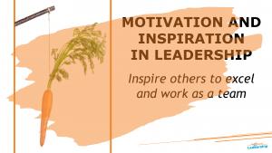 Motivation and inspiration in leadership - In-house Workshop - Leadership Skills - Melbourne - Professional Development