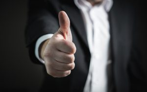 Businessman Thumbs Up - PROfound Leadership - Professional Development - Coaching and Mentoring